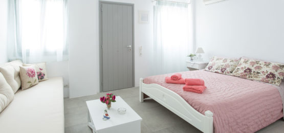 twin or double room, Klery's rooms Naoussa Paros